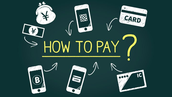 支払い方法のイラスト