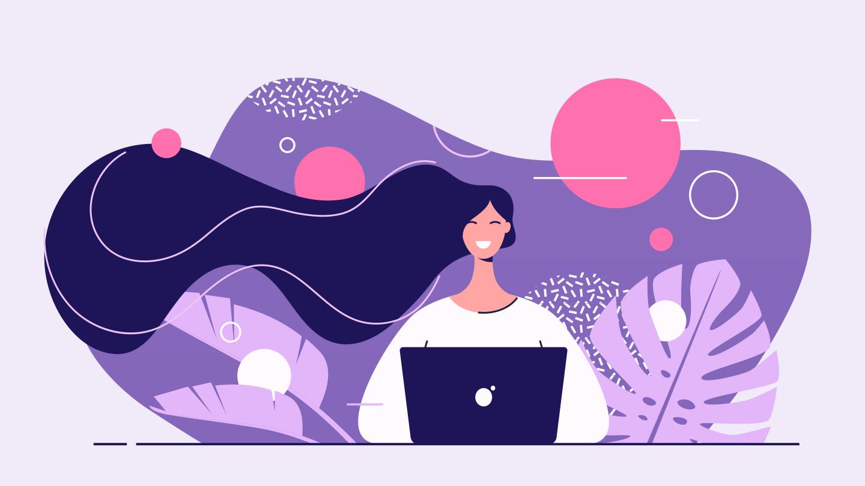 女性未経験のデザイナー