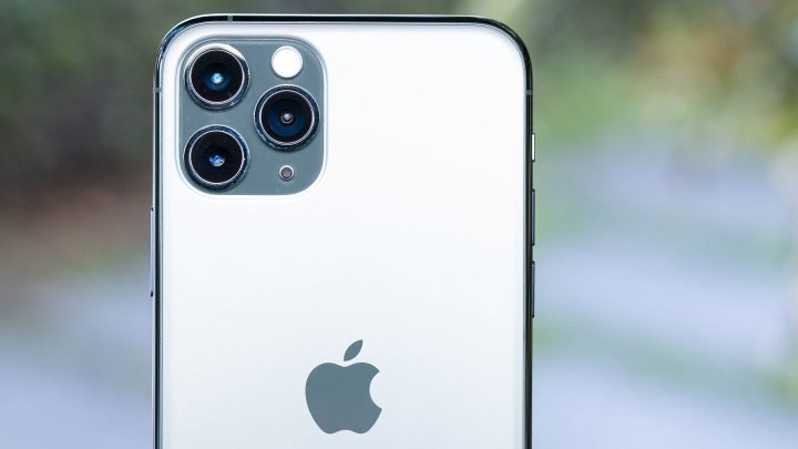 iPhone11Proの背面のカメラ部分