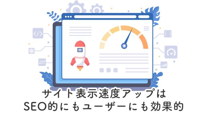 サイトの表示速度のメーター表示画面